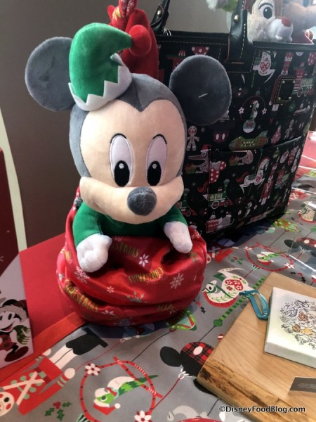 Mickey Baby Holiday Plush