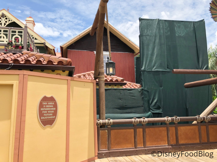 Adventureland's Club 33 Construction