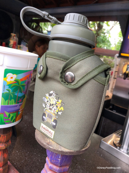 Refillable Canteens at Animal Kingdom