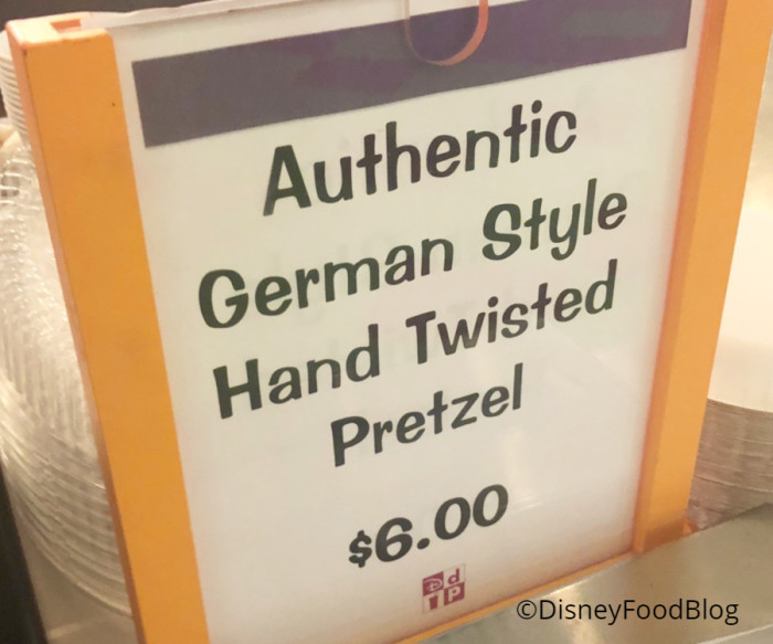 Authentic German Style Hand Twisted Pretzel
