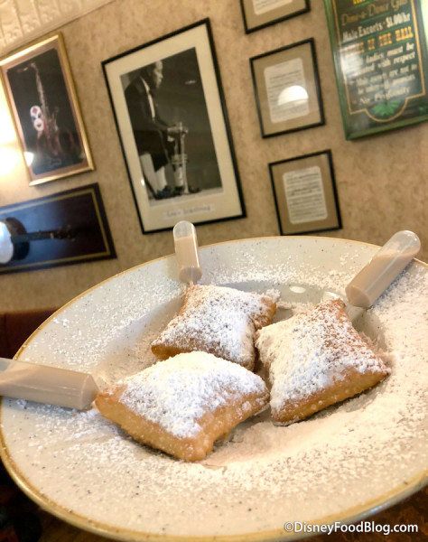 Baton Rouge Beignets with Baileys