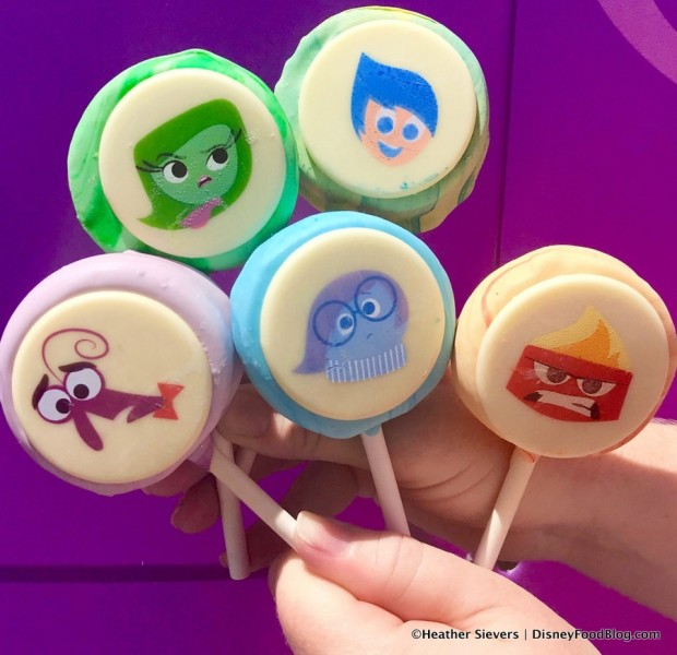 Inside Out Cake Pops