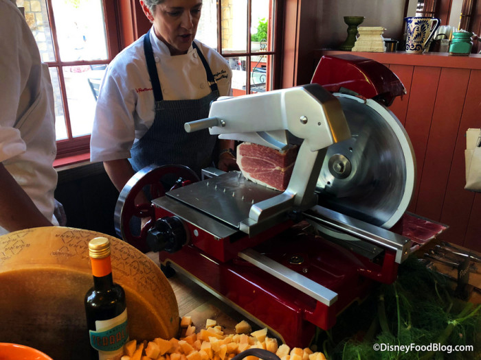 Carving Meats Station