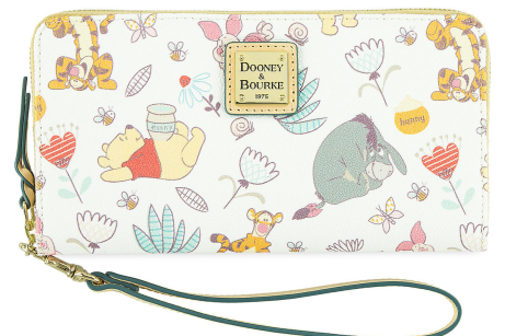 Snap up a wristlet for your next trip to the Hundred Acre Woods.