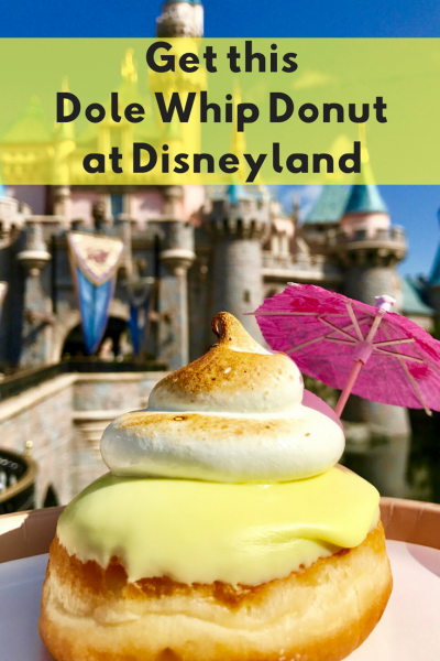 Get This Dole Whip Donut at Disneyland