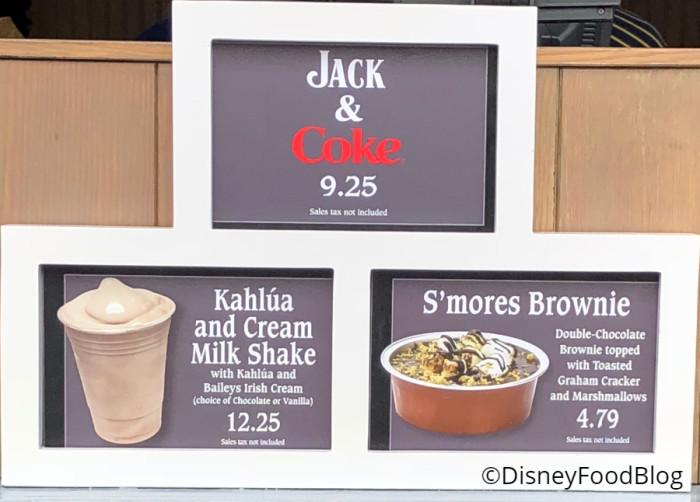 Dockside Diner Jack and Coke