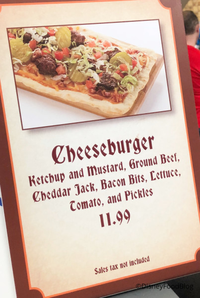 Pinocchio Village Haus Featured Flatbread