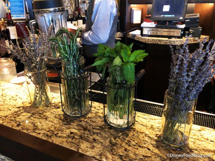 Herbs at the Bar