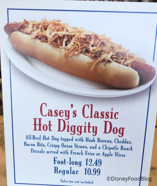 Casey's Classic Hot Diggity Dog of the Month