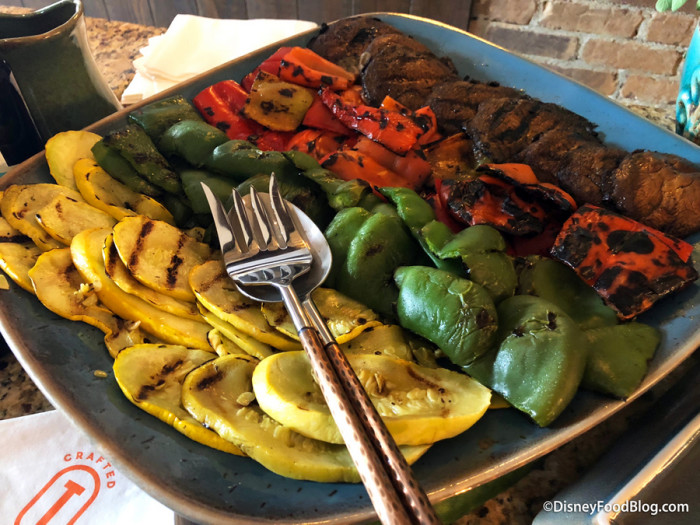 Fresh Grilled Vegetables