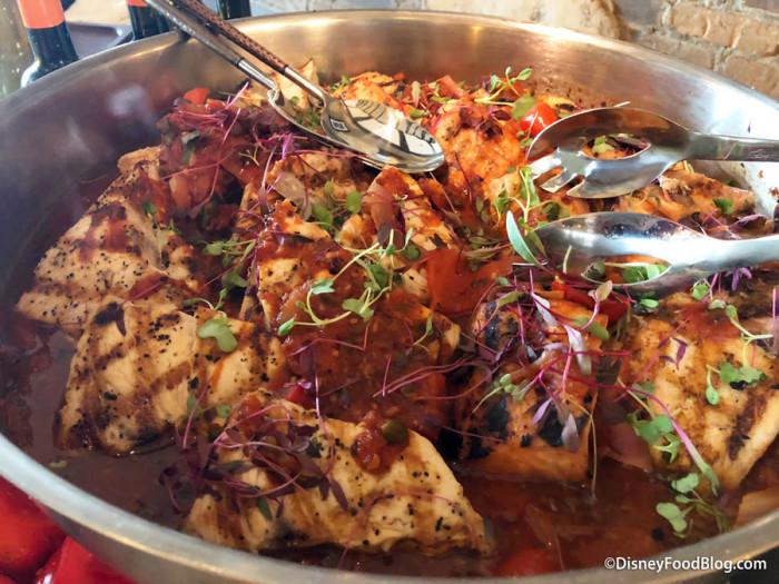 Swordfish Peperonata