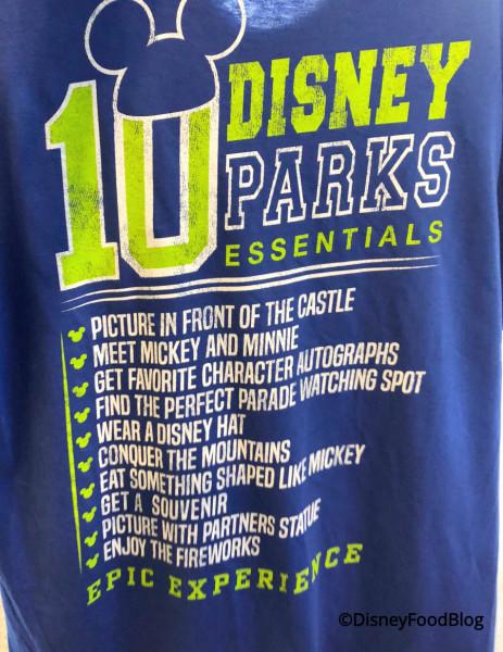 Disney Parks Essentials Tee