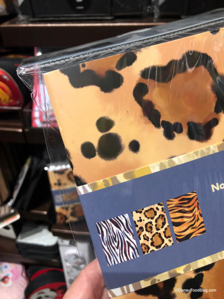 Hidden Mickey on Animal Kingdom Notebooks