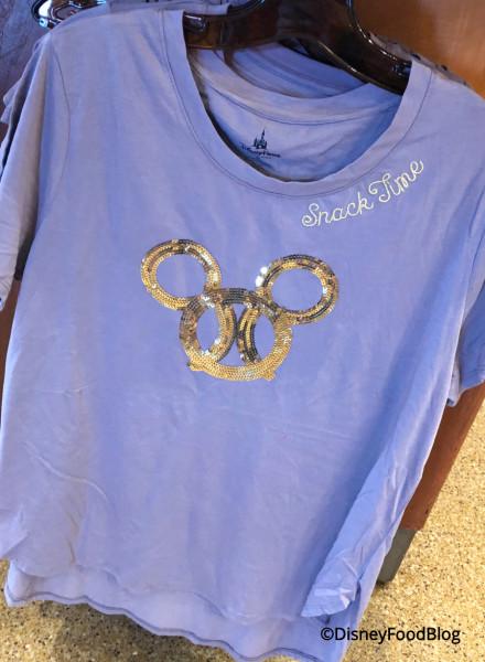 Mickey Pretzel Shirt