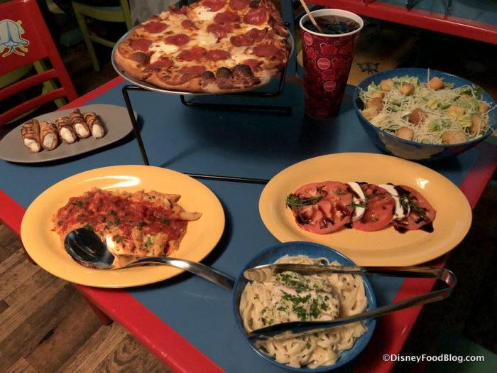Reservations For Pizzafari Family Style Dining Now Open