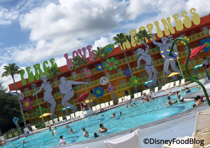 Pop Century Hippy Dippy Pool