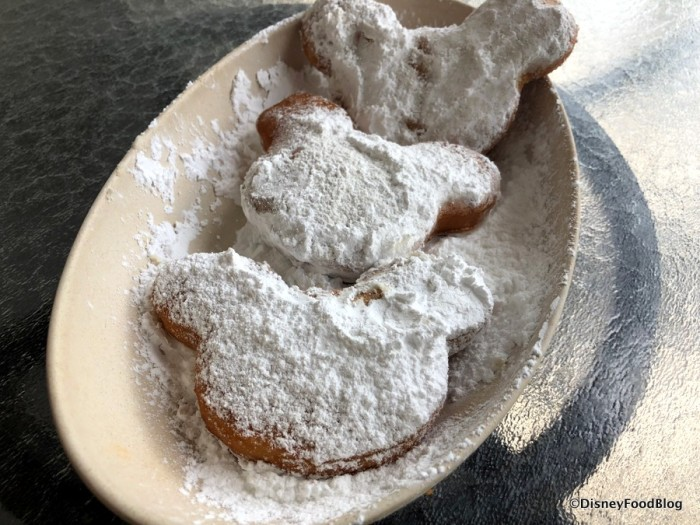 Mickey-Shaped Beignets