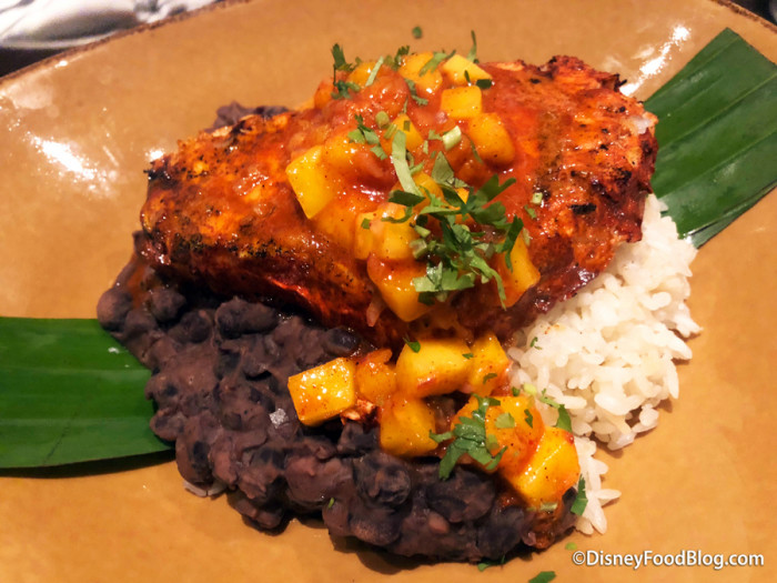 Spicy Grilled Yucatan Swordfish