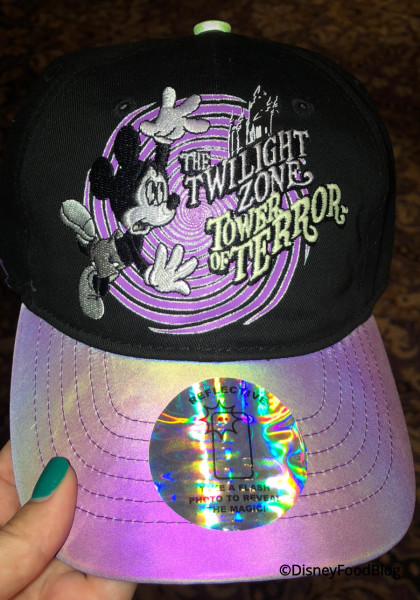Reflective Hat at Tower of Terror