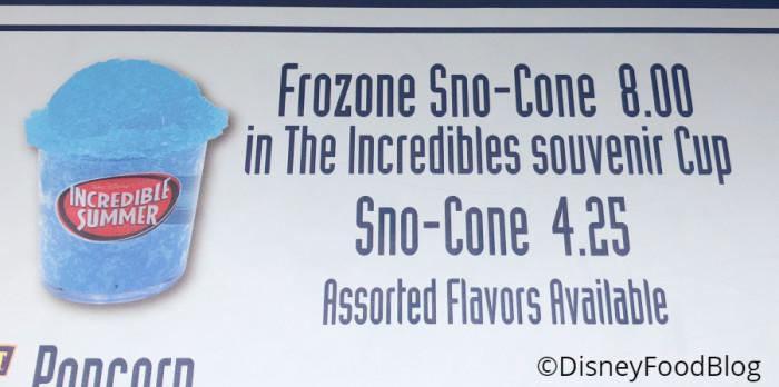 Frozone Sno-Cone