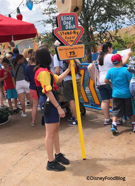 Slinky Dog Dash Line