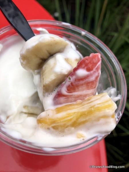 Banana Split Yogurt Parfait