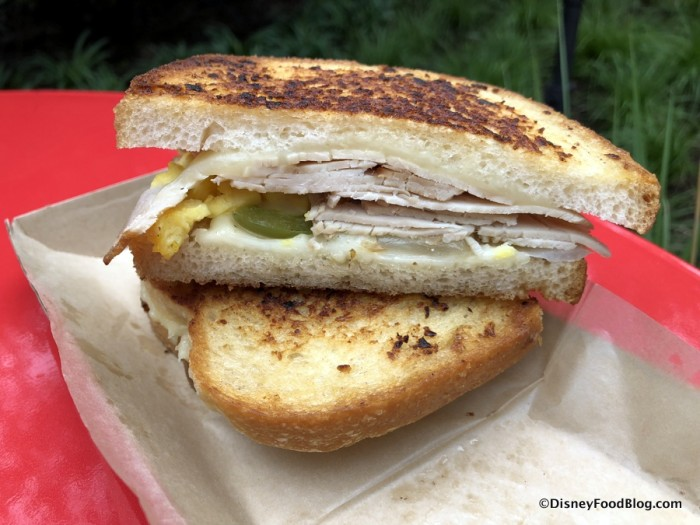 Smoked Turkey Breakfast Sandwich