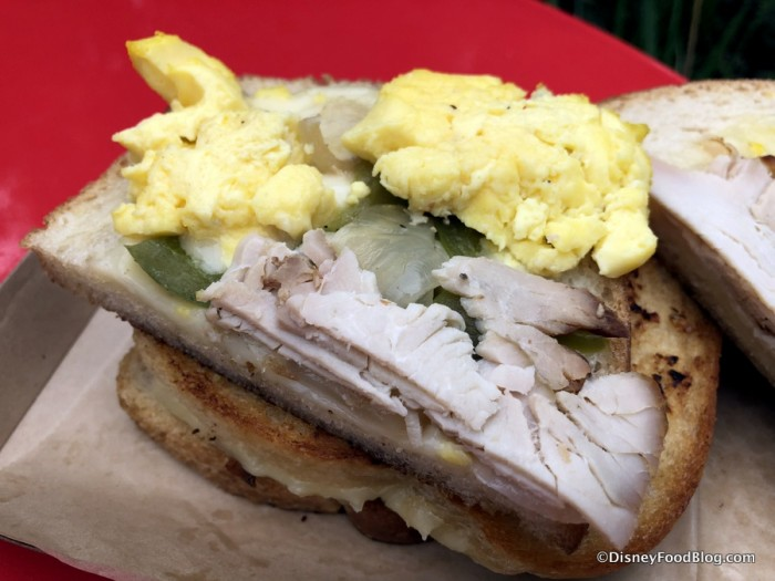 Smoked Turkey Breakfast Sandwich
