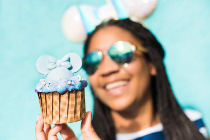 All Star and Saratoga Springs Iridescent Cupcake