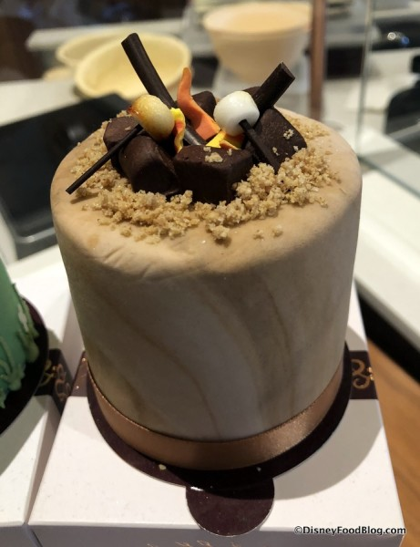 Campfire Petit Four at Amorettes Patisserie