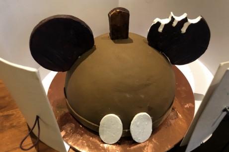 Mickey Ice Cream Sandwich Dome Cake at Amorettes Patisserie