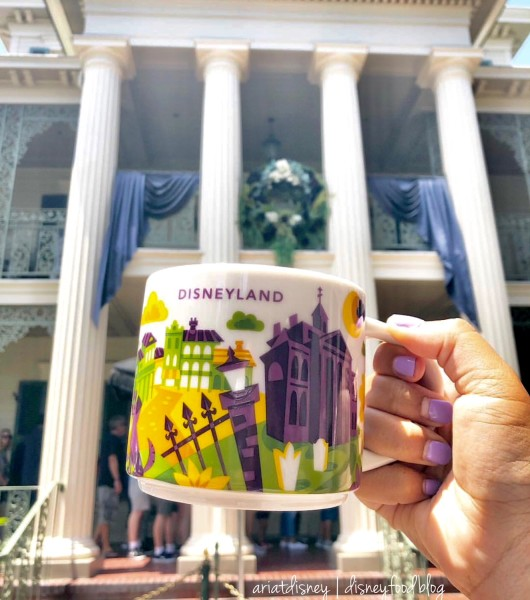 Disneyland Haunted Mansion Starbucks You Are Here Mug!