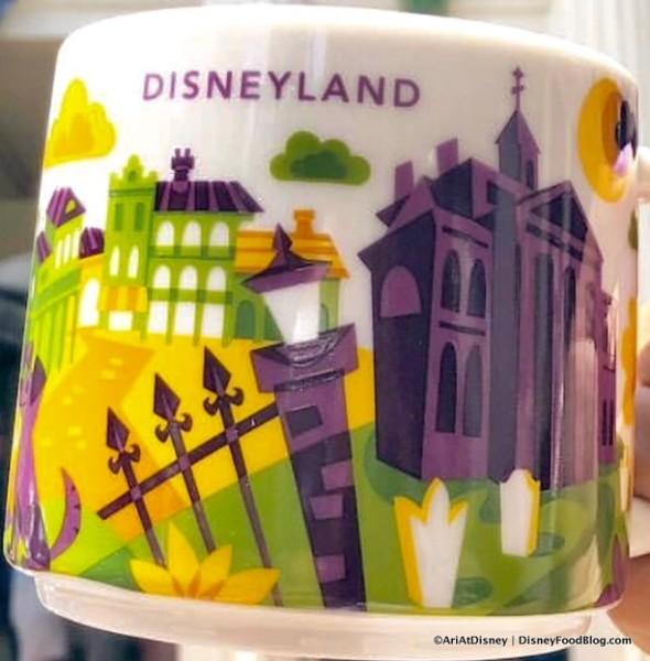 Close up of Haunted Mansion Mug