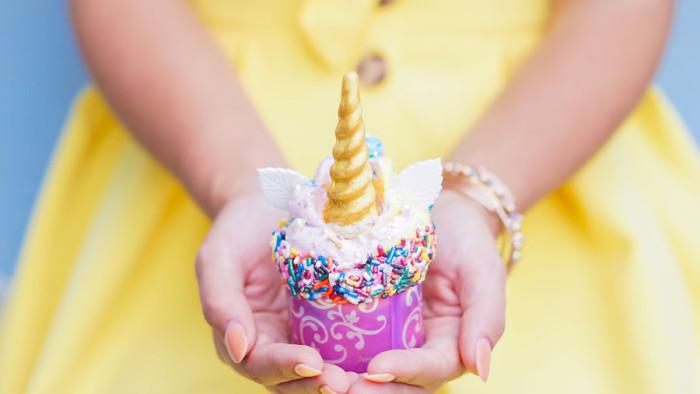 Disneyland Iridescent Cupcake