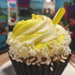 Get It! Dole Whip Cupcake at Disney World's All Star Music Resort