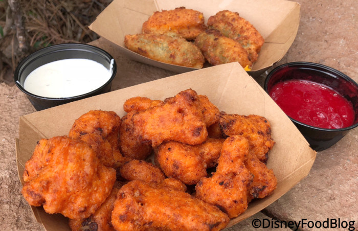 Jalapeno Poppers and Fried Cauliflower