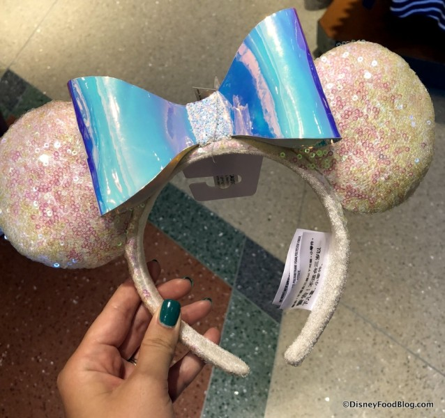Iridescent Minnie Mouse Ears