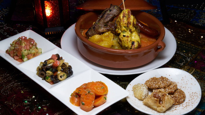 Restaurant Marrakesh's New  Taste of Morocco Menu ©Disney