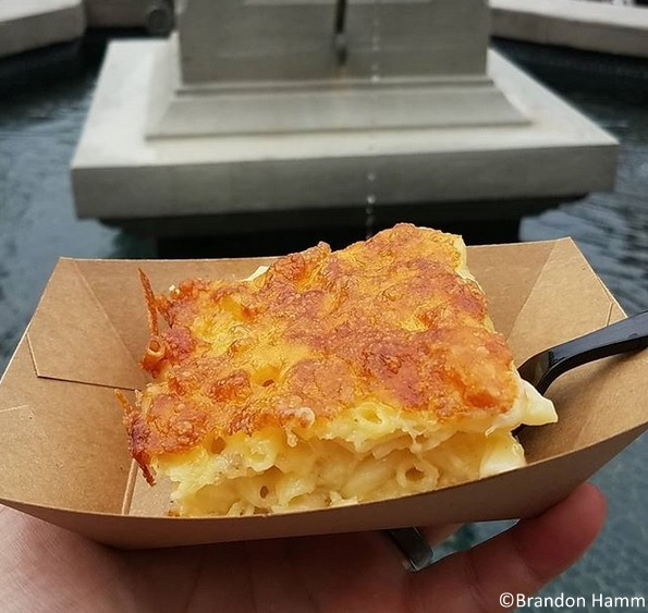 Get the Nudel Gratin in Epcot's Germany!