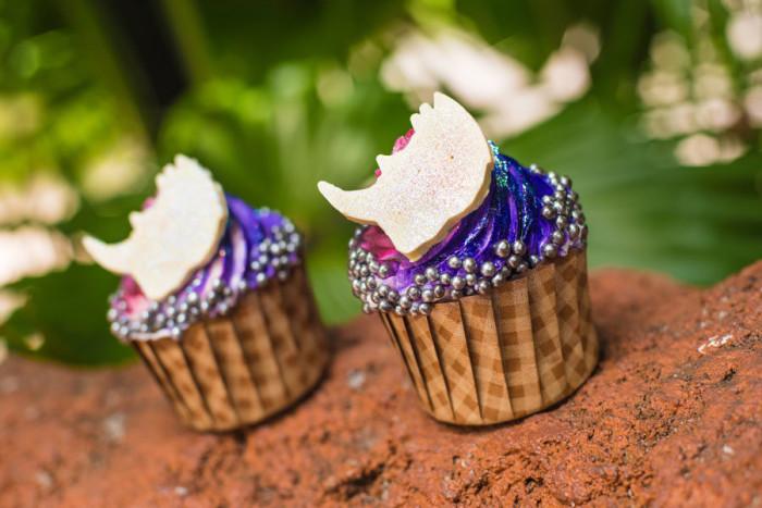 Iridescent Rhino Cupcake