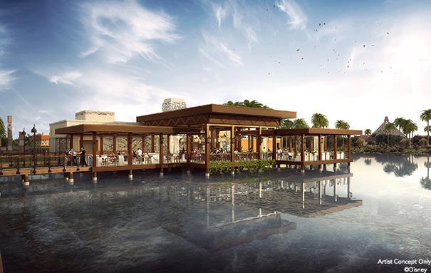 Villa del Lago Concept Art ©Disney