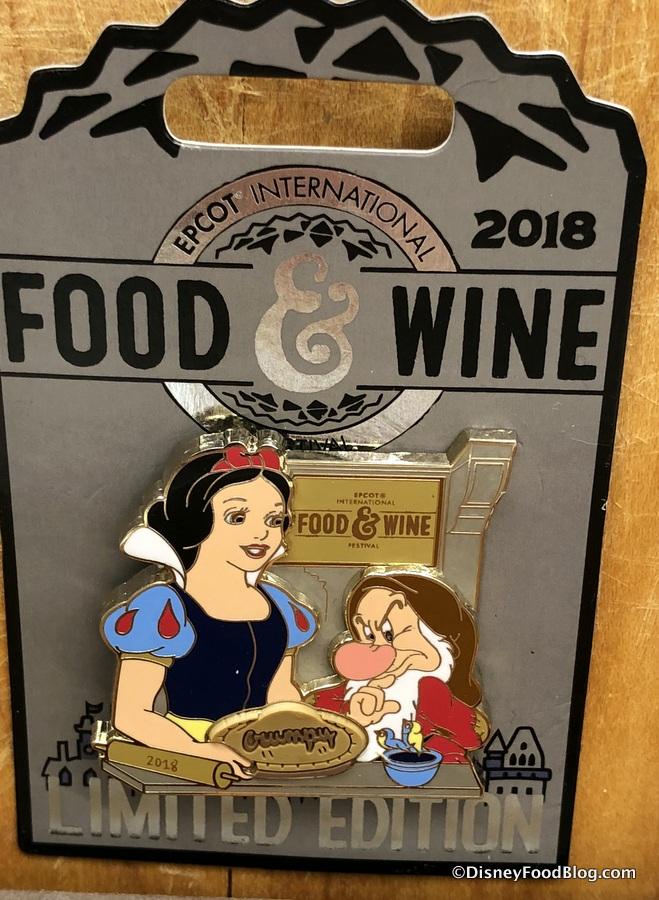 Disney Pin Epcot Food And Wine