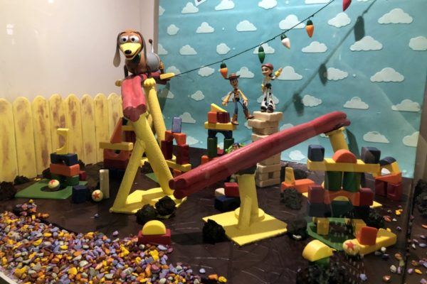 We're Taking You on a Chocolate Sculpture Tour! The Chocolate Experience at the 2018 Epcot Food and Wine Festival