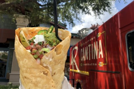 First Look and Review! The NEW 4Rivers Cantina Barbacoa Food Truck in Disney Springs is OPEN!