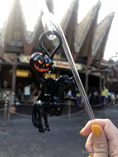 2020 Mickeys Not So Scary Halloween Party Headless Horseman Straw Clip WE'RE LIVE at the First Mickey's Not So Scary Halloween Party for