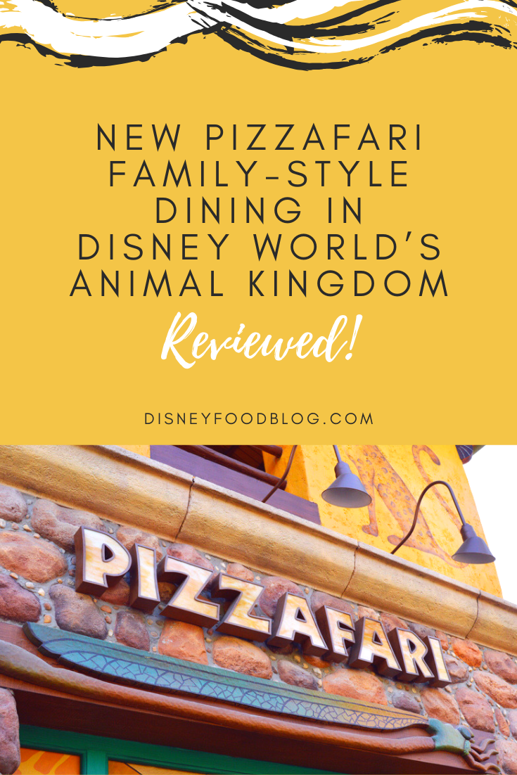 NEW Pizzafari Family-Style Dining in Disney World's Animal Kingdom