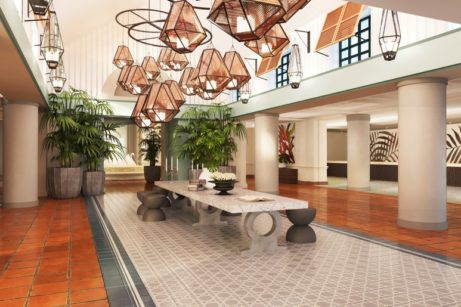 Changes Coming to the Swan's Lobby as Swan and Dolphin Redesign Continues