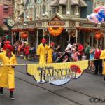 Rainy Day Fun in Disney World's Magic Kingdom: the Rainy Day Cavalcade Parade!