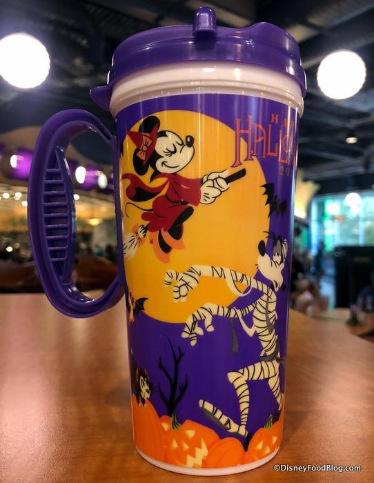 The 2018 Happy Halloween Disney World Refillable Resort Mugs
