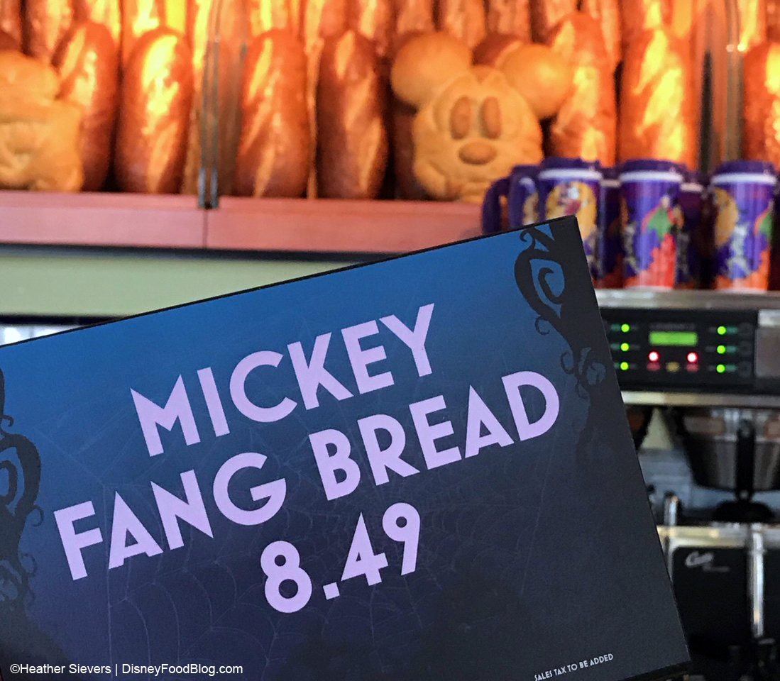 Halloween time eats from disney california adventures pacific wharf we know this bread is as good as it looks whether in mickey shape or more traditional loaves fandeluxe Gallery